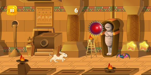 Code Triche Dog Rush : Funny Dog running in ancient Egypt APK MOD screenshots 3