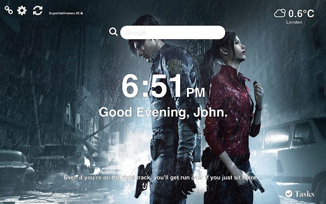 Resident Evil 2 HD Wallpapers Tab