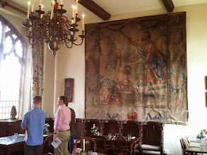 Photo: Grand mural in the St. Peter's pub dining room across from the brewery.