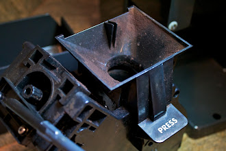 Photo: Coffee Press  (...not really, just cleaning out the espresso maker for goodness Saeco ;)  Thanks to +Rich Gossweilerfor letting me document the cleaning process. He has a cool, custom multi-tool for maintenance. http://goo.gl/EQV8D  #coffeethursday   +Coffee Thursdaycurated by +Jason Kowing and +Cheryl Cooper