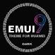 Black Emui 9.1 Theme for Huawei