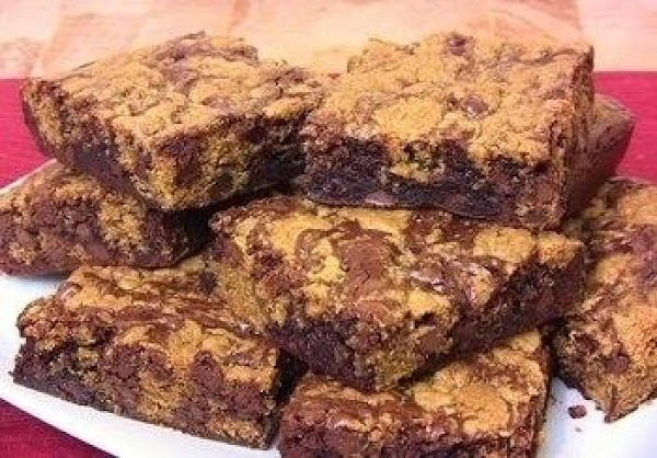Chocolate Chip Cookie Brownie Bars Recipe