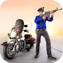 City Police Bike Chase - Highway Bike Racing Game icon
