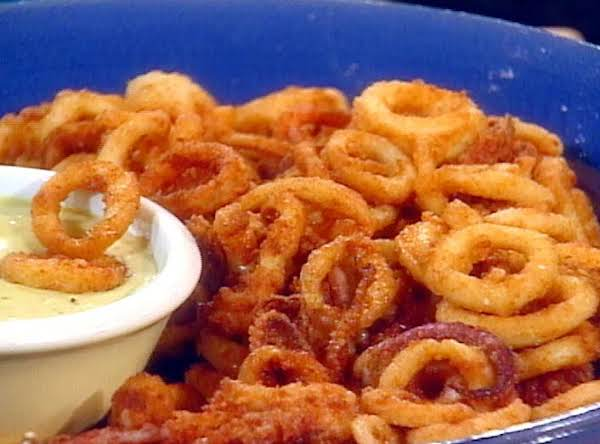 Fried Calamari With Spicy Anchovy Mayonnaise Recipe