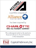 Accord Industries and Charlotte Pipe & Foundry