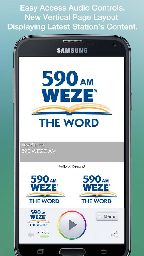 590 WEZE AM - screenshot