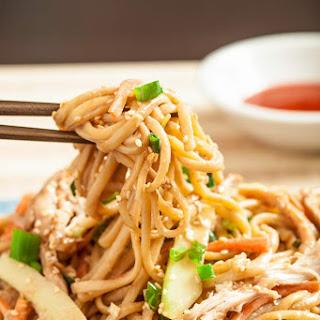Asian Cold Sesame Noodles (Nut Free).