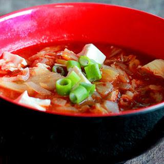 Slender Kimchi Jjigae