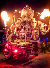 Photo: El Pulpo Mechanico Burning Man 2012