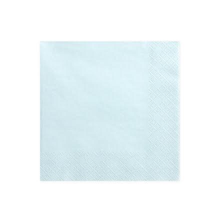 Servetter - Ljus himmelsblå