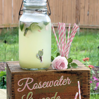 Rosewater Limeade