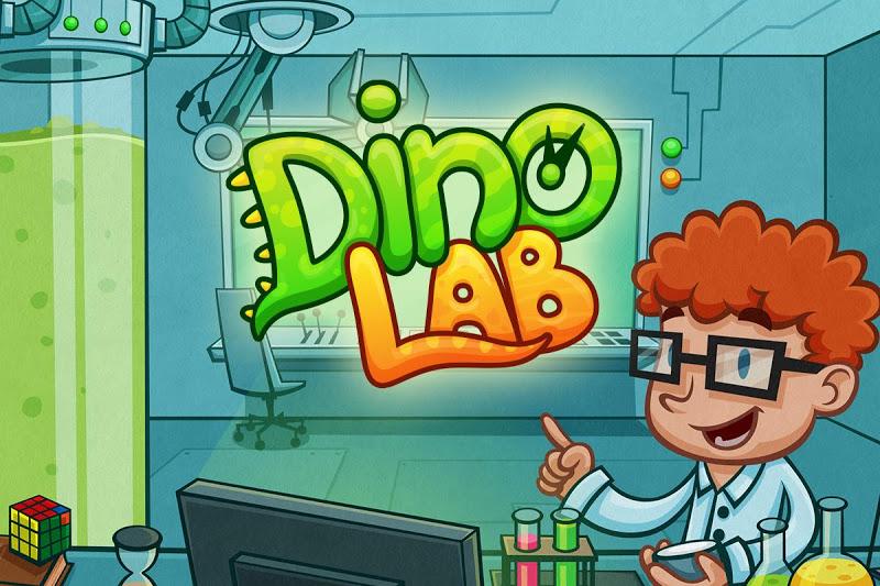Скриншот Dino Lab - Meeting Dinosaurs