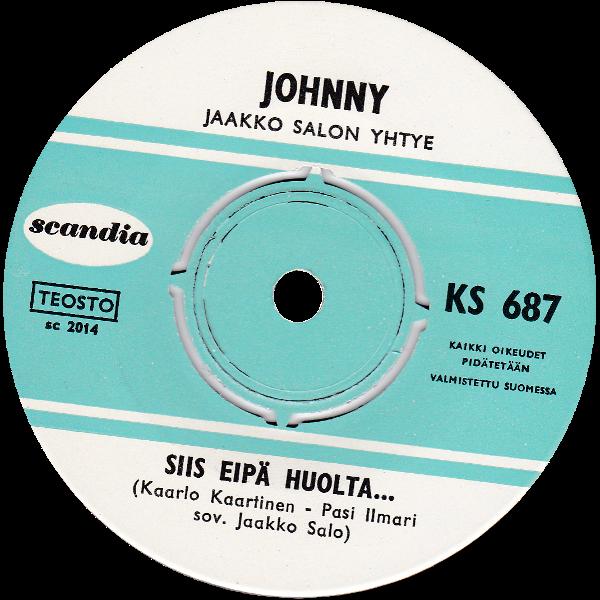 KS-687 -singlen etiketti