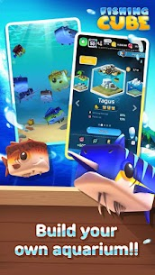 Fishing Cube MOD (Unlimited Currency) 3