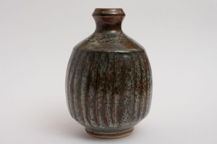 John Leach Fluted Bottle