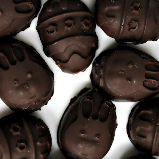 Chocolate Peanut Butter Easter Treats.