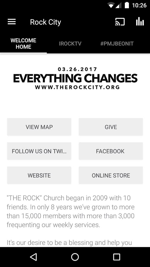 Rock City App- screenshot