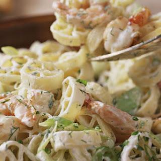Shrimp and Pasta Salad.