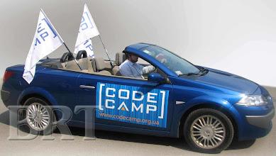 Photo: Магнитная реклама, флаги для конференции CodeCamp (современные технологии разработки программного обеспечения)