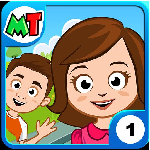My Town : Home DollHouse - Pretend Play Kids House