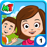 My Town : Home Dollhouse Pretend Kids & girls game icon