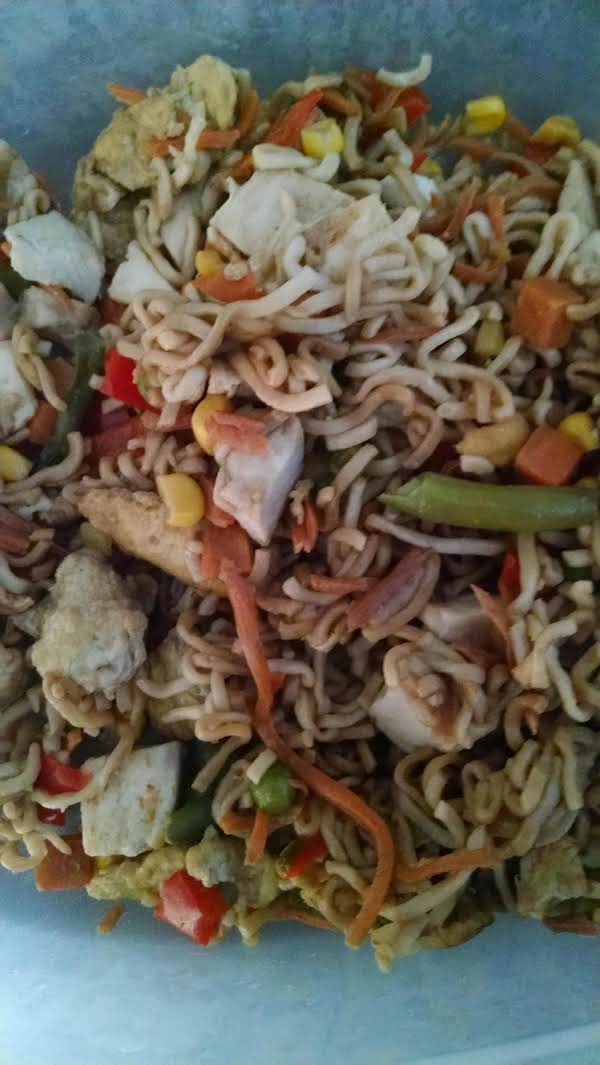 Veggie Fried Noodles Recipe