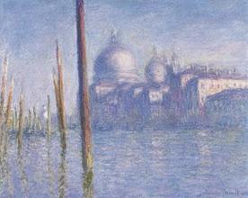 "Photo: Claude Monet, ""Venezia - Il Canal Grande"" (1908)"