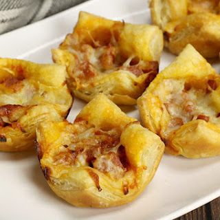 Pizza Puff Pastry Tarts Recipe