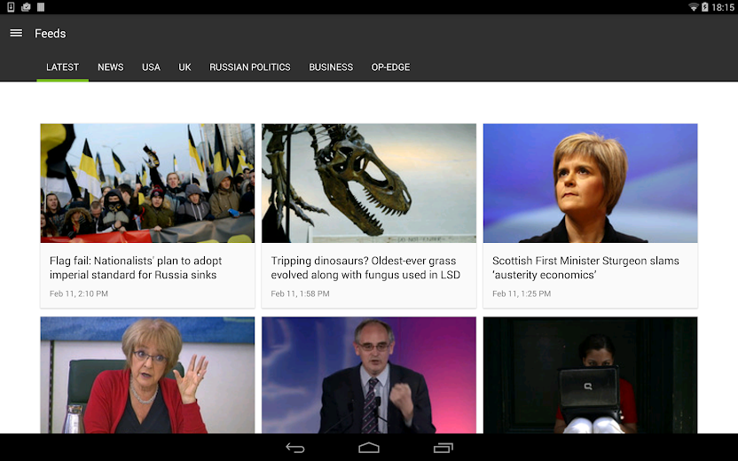 Screenshot 8 for RT's Android app'