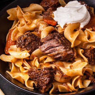 Slow Cooker Beef Goulash.