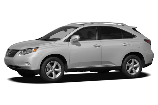 angular-front-of-the-2010-Lexus-Rx-250