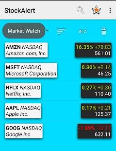 Stock Alert - náhled