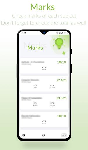 srm watcher | attendance | time-table | marks screenshot 3