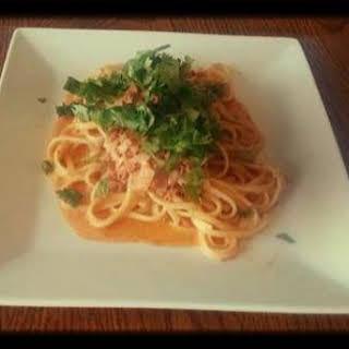 Pasta with Chorizo.