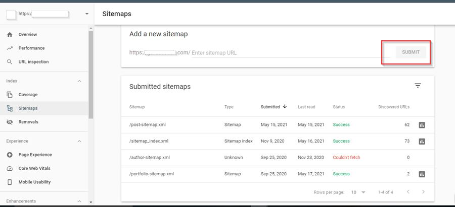 SEO for small business sitemaps