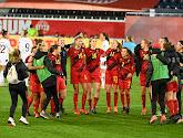 🎥 Les Red Flames fêtent leur qualification pour l'Euro 2022