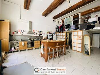 Loft meublé 1 pièce 12 m2