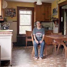 Photo: title: Rhonda Wanser, Topsham, Maine date: 2015 relationship: friends, art, met at Hampshire College years known: 20-25