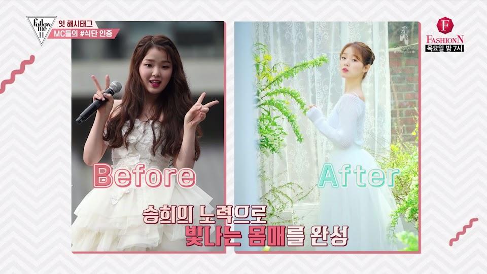 seunghee drastic weight loss 1
