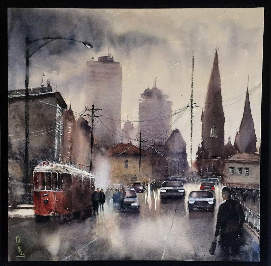 Patrice Stutz, ses aquarelles