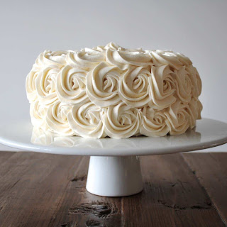 Simple Vanilla Buttercream.