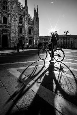 Bicicletta in Piazza del Duomo di annachiara_radice
