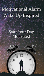 Motivational Alarm Clock - Wake Up Inspired APK screenshot thumbnail 1