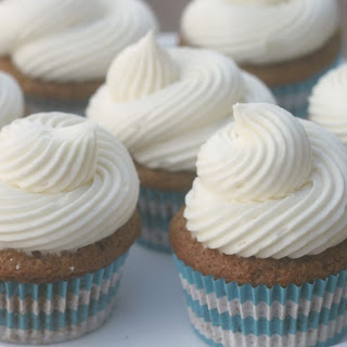 Pumpkin Cupcakes with Cream Cheese Buttercream Frosting