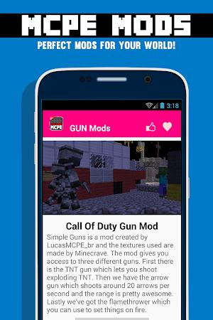 GUN MODS FOR MCPE 1.4.2 screenshot 638880