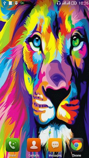 Graffiti lion LWP