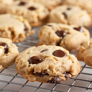 Chocolate Chip Nut Butter Cookies