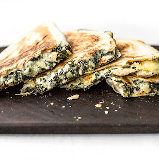 Spinach Artichoke Quesadillas Recipe