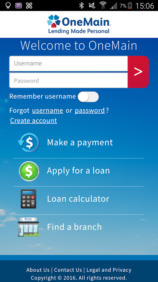 OneMain - Personal Loans- screenshot