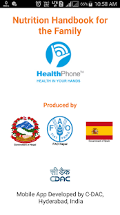 Nutrition English HealthPhone- screenshot thumbnail